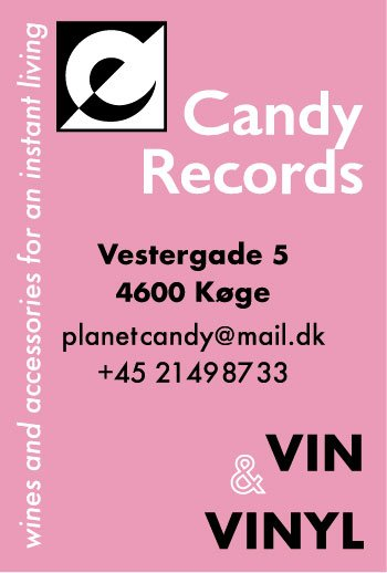 Reklame for Candy Records