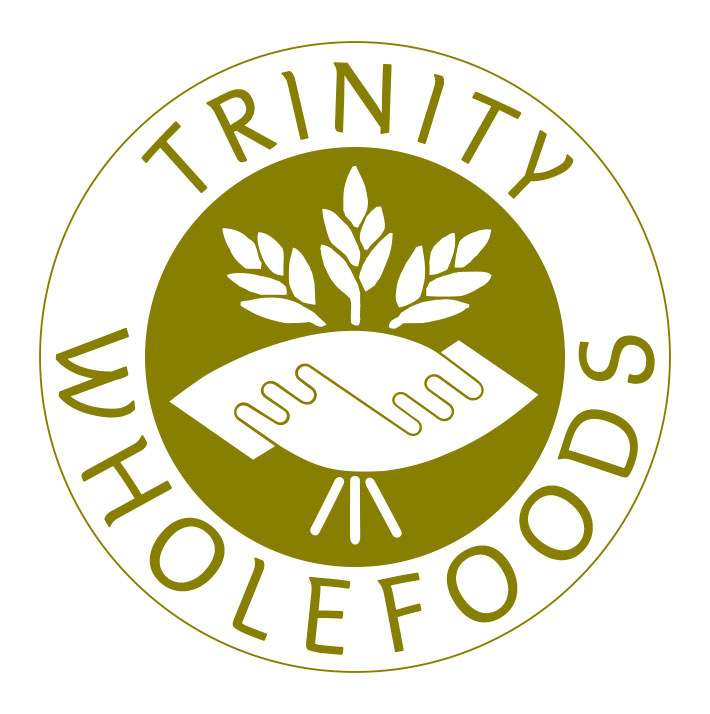Logo re-design, Trinity wholefoods