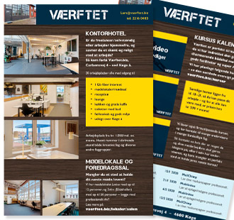 Brochure og katalogdesign